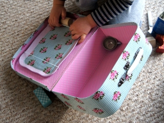 Ozdobna walizka